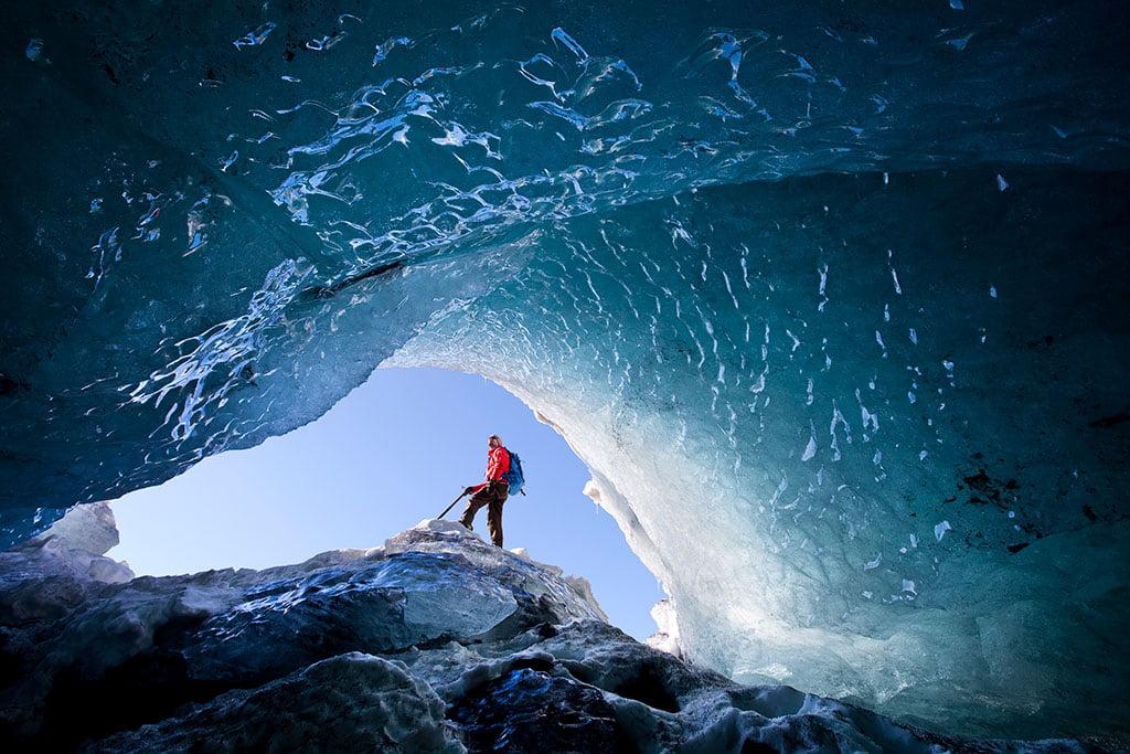 Ice cave - Arctic Exposure